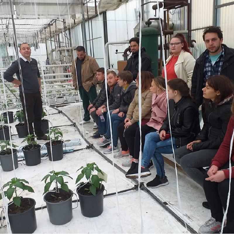 Budapesti gyakorlat, harmadéves kertész hallgatók, 2019.05.-6-9.